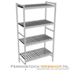Fermostock 6611 - 4 etages - 900x460x1800 mm (bxdxh)